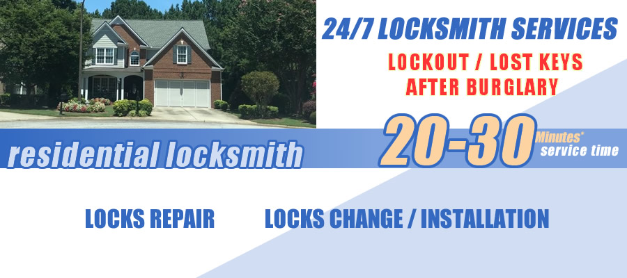Residential locksmith Roswell